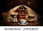 Cup Of Coffee  Grinder  Turk...