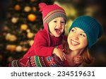 happy family mother and baby... | Shutterstock . vector #234519631