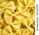 close up of the farfalle pasta... | Shutterstock . vector #23452099