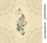 Greeting Beautiful Card With...