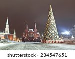 Red Square During New Year...