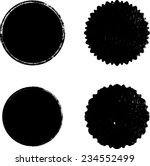 vector circle shapes collection ... | Shutterstock .eps vector #234552499