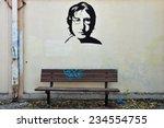 Постер, плакат: Famous musician John Lennon