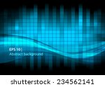 abstract background of squares... | Shutterstock .eps vector #234562141