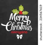 Christmas Typographic...