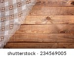 Wood Texture  Wooden Table Wit...