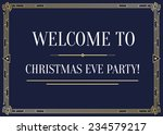 great vintage invitation sign... | Shutterstock .eps vector #234579217