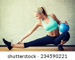 fitness  sport  training and... | Shutterstock . vector #234590221