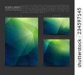 design vector elements  flayer  ... | Shutterstock .eps vector #234597145