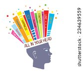 psychology concept with... | Shutterstock .eps vector #234639559