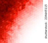 red triangular background | Shutterstock .eps vector #234645115