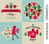 vector flat modern creative... | Shutterstock .eps vector #234666511