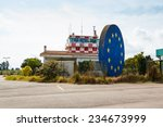 Abandoned Airport Control Towe...