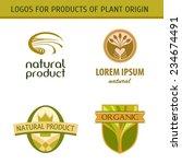 set logo for farmers ... | Shutterstock .eps vector #234674491
