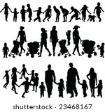 Children Silhouette Collection...