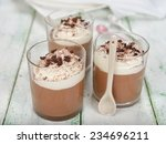 Chocolate Dessert With Whipped...
