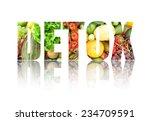 detox  | Shutterstock . vector #234709591