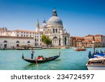beautiful view of traditional... | Shutterstock . vector #234724597