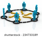 business network | Shutterstock . vector #234733189