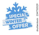 Special Winter Offer Banner  ...