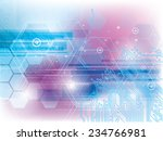 abstract background of... | Shutterstock .eps vector #234766981