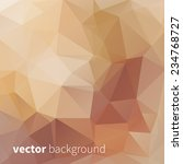 geometrical vector triangular... | Shutterstock .eps vector #234768727