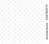 tile pattern with small pink... | Shutterstock . vector #234783979
