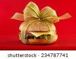 Gift Wrapped Hamburger  ...