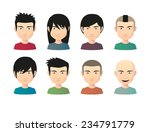 illustration of an isolated set ... | Shutterstock .eps vector #234791779