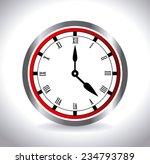 time design over white... | Shutterstock .eps vector #234793789