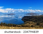titicaca lake view from bolivia | Shutterstock . vector #234794839