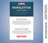 newsletter design template for...