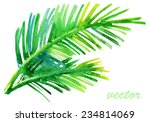 Palm Tree Watercolor Original...
