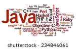 conceptual tag cloud containing ... | Shutterstock .eps vector #234846061