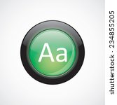 typography glass sign icon...