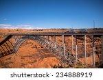 colorado river bridge near page ... | Shutterstock . vector #234888919