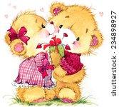 Valentine Day. Teddy Bear....