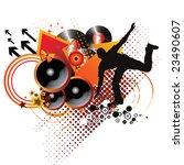 music background | Shutterstock .eps vector #23490607