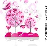 spring trees | Shutterstock .eps vector #23490616