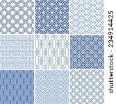 seamless oriental geometric... | Shutterstock .eps vector #234914425