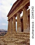 greek's ruins in the south of... | Shutterstock . vector #2349240