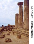 greek's ruins in the south of... | Shutterstock . vector #2349244