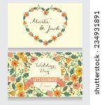 wedding invitation card ... | Shutterstock .eps vector #234931891