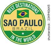 sao paulo label | Shutterstock .eps vector #234940645