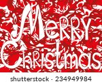 vector illustration. merry...   Shutterstock .eps vector #234949984
