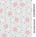 vector seamless pattern. modern ... | Shutterstock .eps vector #234989695