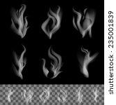 realistic smoke vector | Shutterstock .eps vector #235001839