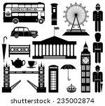Vector London City Street Icon...