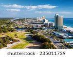 panama city beach  florida ... | Shutterstock . vector #235011739