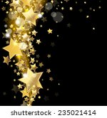 star on a black background | Shutterstock . vector #235021414